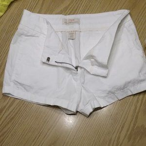 J. Crew 100% Cotton Chino Broken-In Shorts Sz. 10